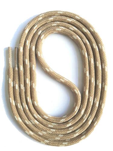 runde SCHNÜRSENKEL für WANDERSCHUHE ARBEITSSCHUHE 5mm Polyester SNORS 75-200cm
