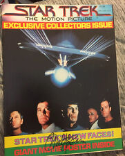 WALTER KOENIG Hand Signed Autographed W/COA STAR TREK MOTION PICTURE BOOKLET