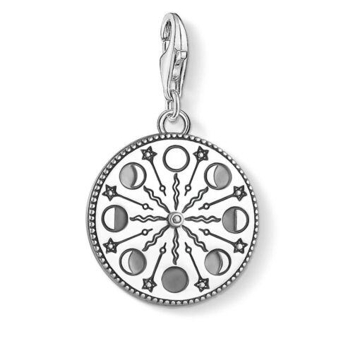 Genuine Thomas Sabo black sterling silver necklace new