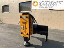 Hmb680 Hydraulic Post Hole Driver Universal Skid Steer Attachment