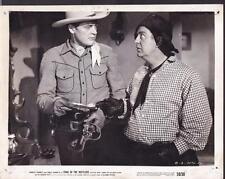 Charles Starrett Smiley Burnette Trail of the Rustlers 1950 movie photo 28350