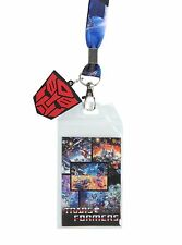 TRANSFORMERS ROBOTS IN DISGUISE ID LANYARD REVERSIBLE CHARM AUTOBOT DECEPTICON