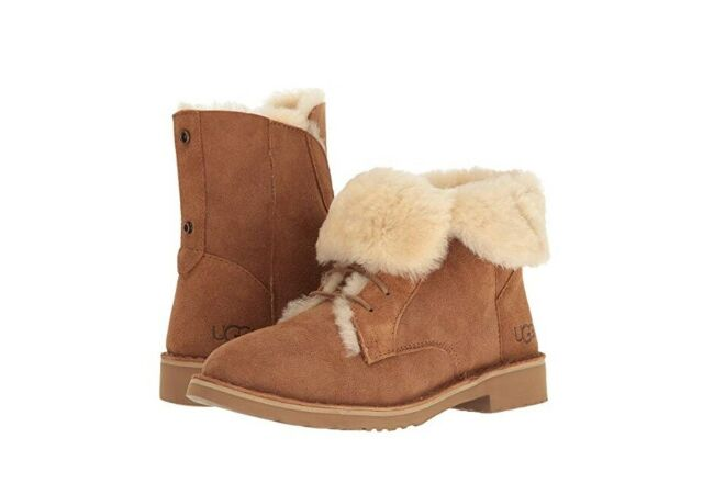 UGG Women's Quincy 1012359 Lace Up Boot