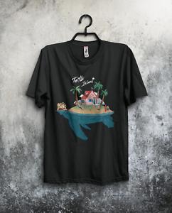 Son Goku Kame house Anime Turtle Island  Men/'s T-shirt  Dragon Ball Manga