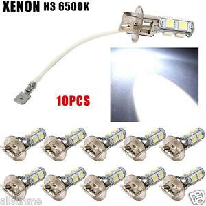 10x-Enon-White-Cree-H3-6500k-Lens-4-5W-12V-Scheinwerfer-Auto-Led-Lampe
