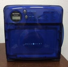 Sharp Half Pint Carousel Microwave Oven ( Blue ) RV Dorm Office Camper R-120DB