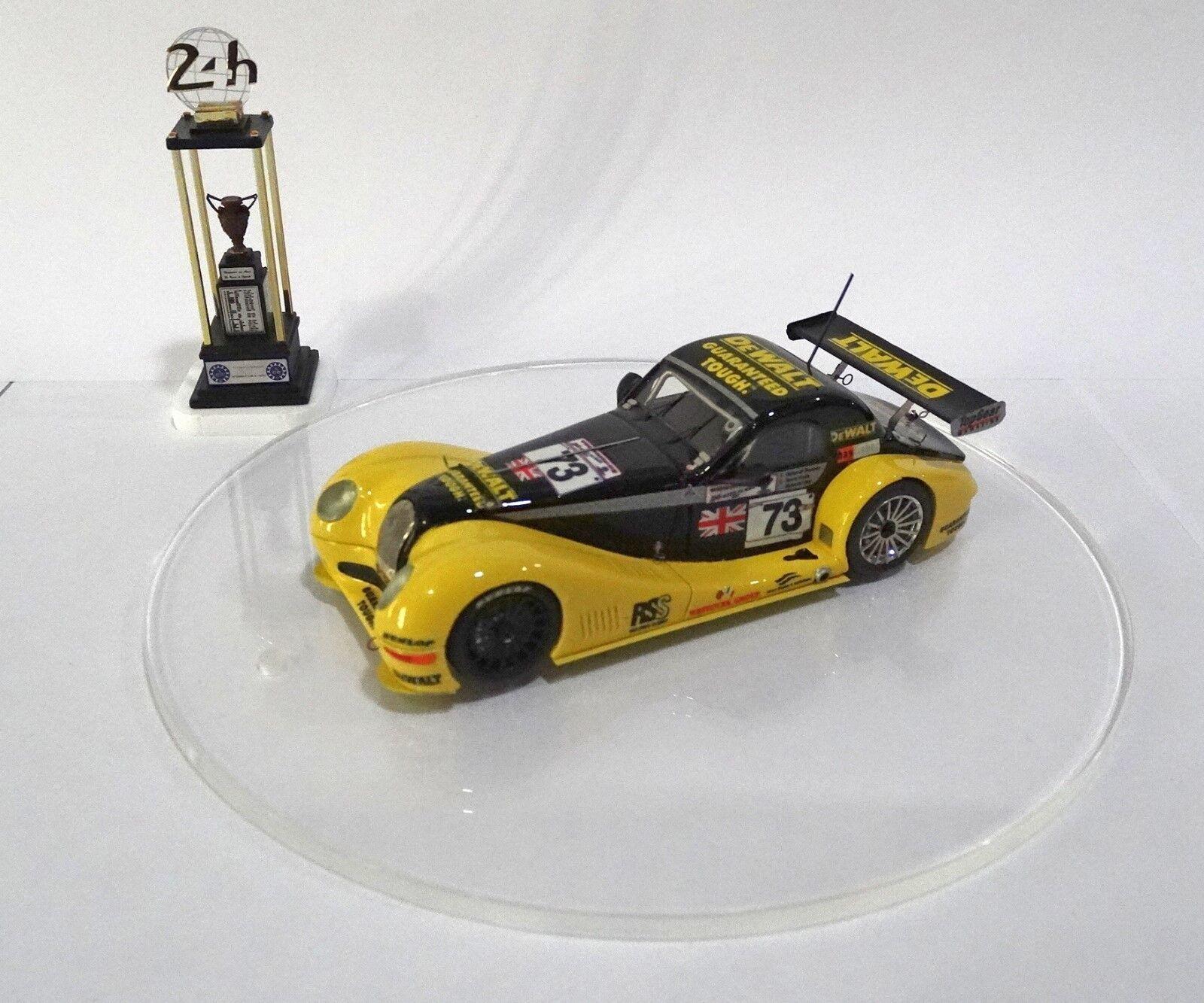 MORGAN AERO 8 GT DE WALT  73 Le Mans 2002 TOP Built Monté Kit 1/43 no spark