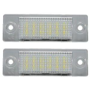 LED-License-Number-Plate-Light-Lamp-VW-TRANSPORTER-T5-CADDY-TOURAN-Golf-Pas-Y5G7
