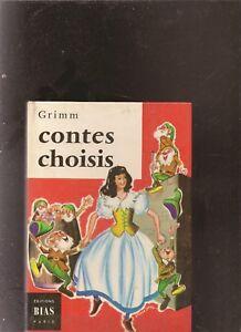 Contes-choisis-de-Grimm-Livre-etat-bon