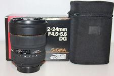 Sigma DG HSM 12-24mm 1:4.5-5.6 DG HSM   für Nikon 1 Jahr Gewährleistung
