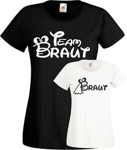 Das Bild wird geladen Jga-T-Shirt-Team-Braut-suesses-Frauen- Junggesellinnenabschied- 86fe894a4d