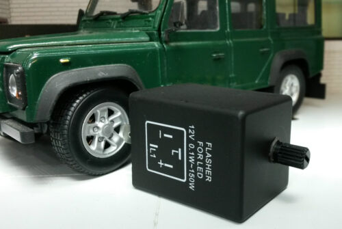 Land Rover Defender PRC8876 12v 4 Pin Electronic LED Variable Flasher Unit 150W