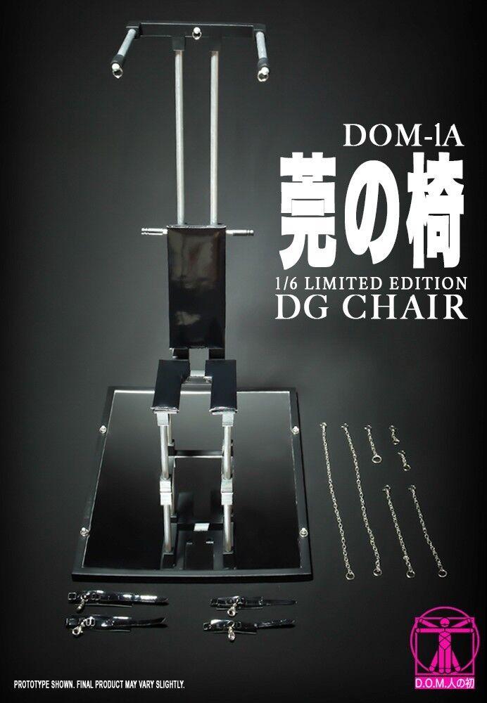 D.O.M. 1 6 Edición Limitada DG silla DOM-1 para Phicen Kumik Cuerpo Femenino En Stock