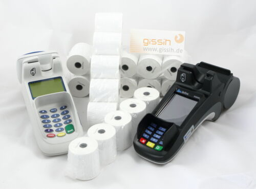57//40m//12 mit SEPA-Text 20 Bonrollen Thermo ec-cash phenofrei ! IPP480 H5000