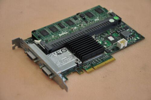 0F989F Dell PERC 6E SAS//SATA Dual External Channel RAID Controller Card 0J155F