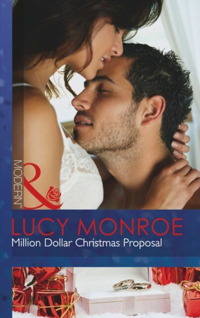 """AS NEW"" Monroe, Lucy, Million Dollar Christmas Proposal (Modern) Book"