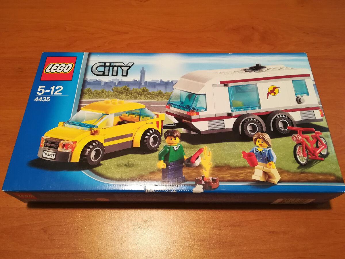 LEGO City 4435 - Voiture et caravane - Car and Caravan NEUF NEW MISB Sealed