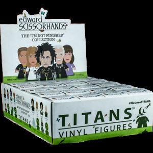 Titans Vinyl Figures EDWARD SCISSORHANDS Collection **YOUR CHOICE**