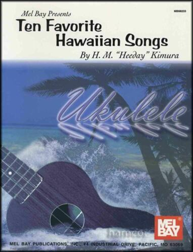 Ten Favorite Hawaiian Songs Ukulele Chord Songbook