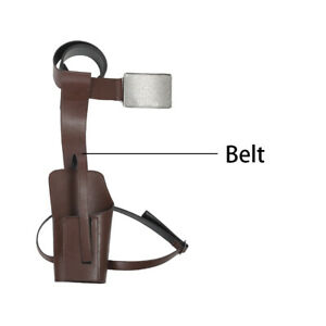 Star-Wars-The-Last-Jedi-Cosplay-Poe-Dameron-Leather-Belt-Holster-One-Size