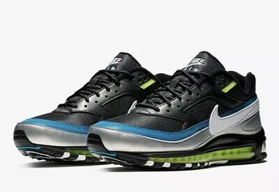 NEW Sz 11 Men's Nike Air Max 97BW Running Shoe Metallic Silver AO2406 003 $170 | eBay