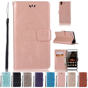 Flip Magnetic Card Wallet PU Leather Case Stand Cover Skin For ...