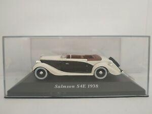 1-43-SALMSON-S4E-1938-CABRIOLET-COCHE-DE-METAL-A-ESCALA-SCALE-DIECAST