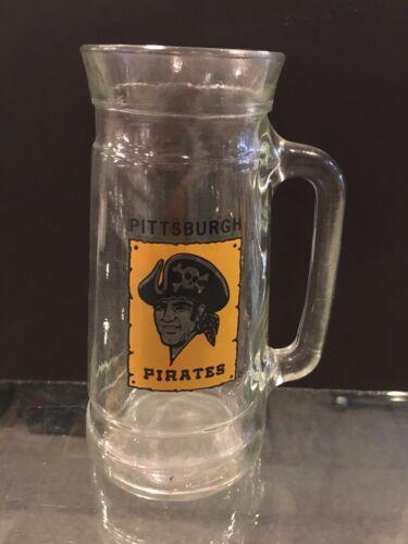 1970/'S PITTSBURGH PIRATES DRINKING GLASS LARGE MUG O/'NUTS
