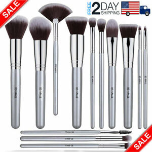 Details about BS Professional Cosmetic Makeup Brush Set Eyeshadow  Foundation Brushes 13pcs