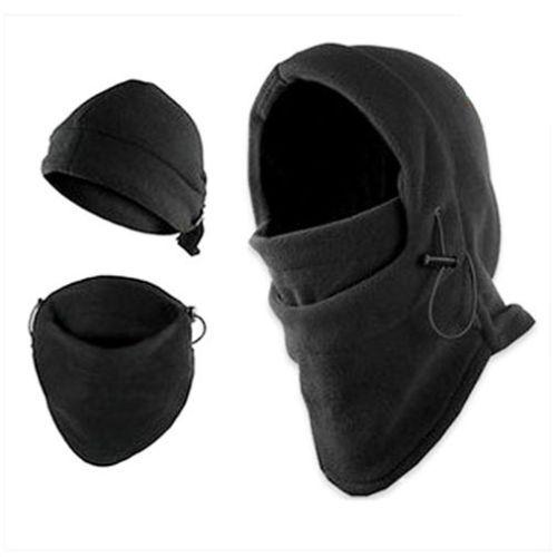 Emergency Outdoor Survival Kit Ski Mask Beanie Camping Hiking Hat Warm Fleece