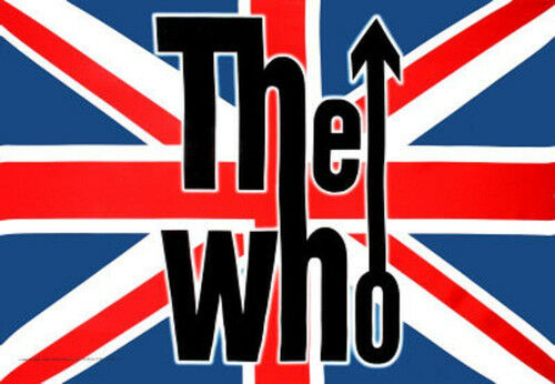 30x40 WALL HANGING MUSIC HFL0862 BAND LOGO FABRIC POSTER THE WHO