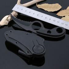 Im freien Camping Self-Defense Klaue Gezahnt Bowie Tasche Messer Überleben Cool