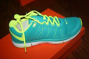 NIKE MEN'S FREE 3.0 TRAINER RUNNING SHOES STYLE 630856 371 SAMPLE SIZE 10