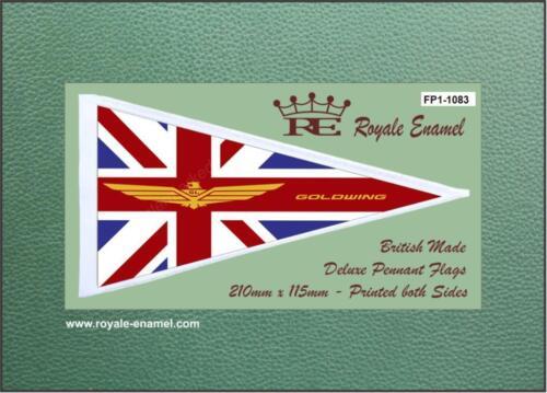 FP1.1083 HONDA GOLDWING EMBLEM Royale Antenna Pennant Flag