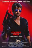 """COBRA Movie Poster [Licensed-New-USA] 27x40"""" Theater Size (STALLONE) 1986"""