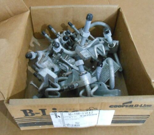 3 AVAILABLE 10 NIB COOPER B-LINE 9G-1158-1-1//2-2 CONDUIT TO TRAY ADAPTOR