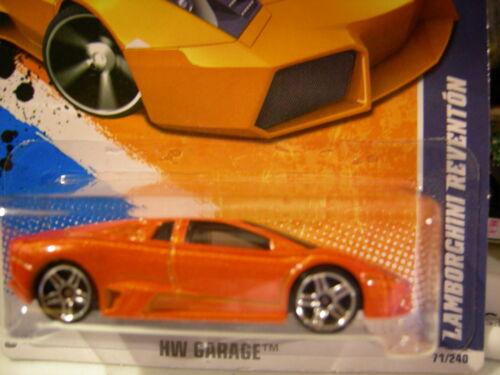Hot Wheels Lamborghini Reventon HW Garage Orange