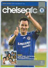 Chelsea v Valencia - Champions League - 11/12/2007 - Football Programme