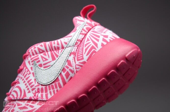 Nike frauen roshe lauf print gs laufschuhe frauen Nike 8,5 = 100%) 7.