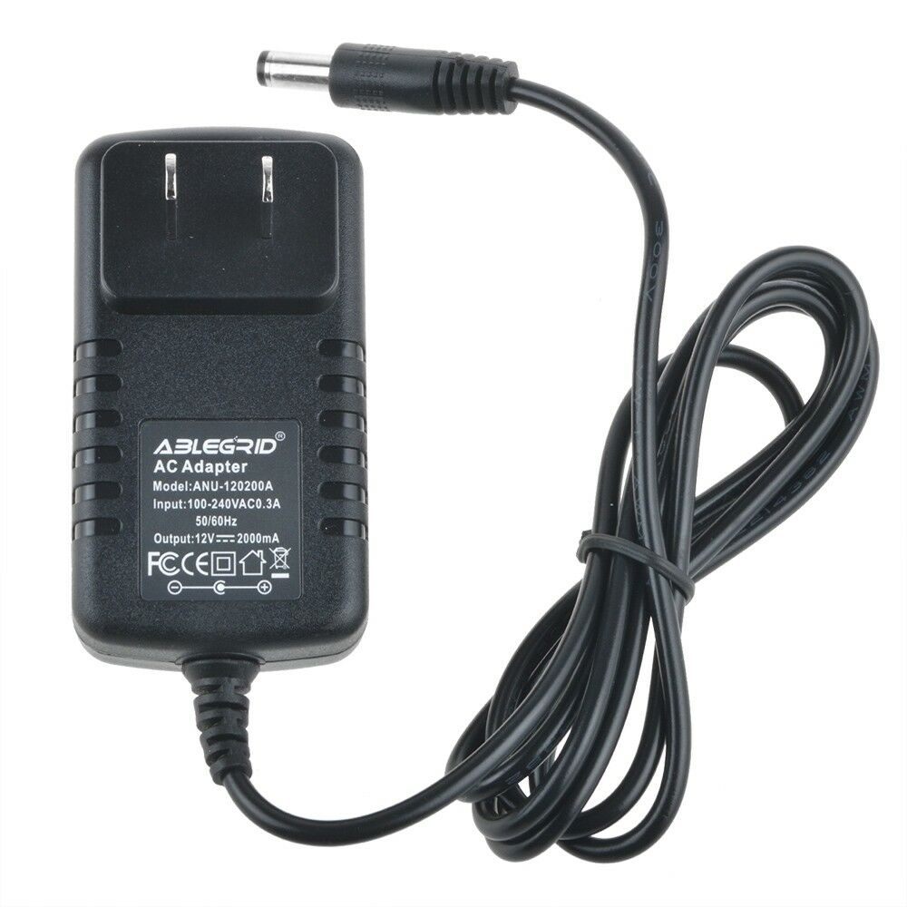 2.1x5.5mm CCTV Security Camera Power Supply Adapter 12V DC 2A (2000mA) Charger