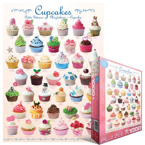 Eurographics Toys 6000-0586 1000-Piece EuroGraphics Cupcake Celebration Puzzle