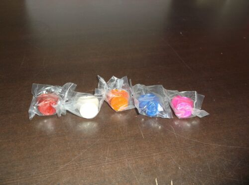 LOT OF 5 GREEN LANTERN BLACKEST NIGHT RINGS VIOLET RED WHITE PINK ORANGE