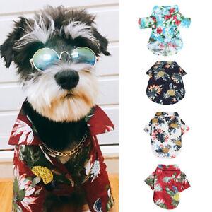 Dog-Hawaiian-TShirt-Shirt-Pets-Cat-Puppy-Clothes-dogs-Costumes-Apparel