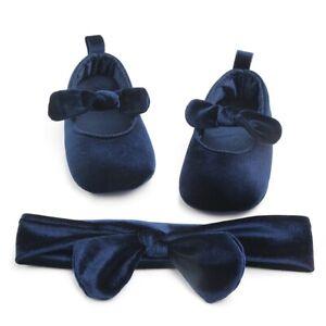 590e0fbf06 Details about Newborn Baby Girl Soft Sole Cloth Crib Shoes Anti-slip  Sneaker Prewalker 0-18M