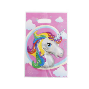 10X Theme Party Gift Bags Candy Bag Loot Bags For Kids Birthday Decor TO