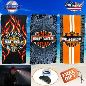 Authentic Harley Davidson Large Beach Towels 3 Styles FAST SHIPPING