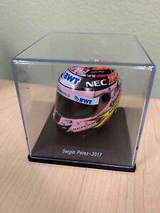 """F1 Mini Casque 1:5 Sergio """"Checo"""" Pérez 2017"""
