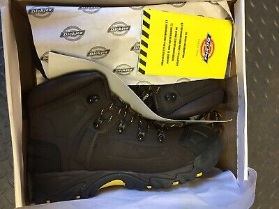 fc41c9a661a Dickies FD23310 Medway Safety Boots Thinsulate Steel Toe Leather Brown Size  - 12 5025540040830 | eBay