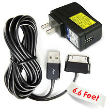 6.6 ft cord AC Adapter for Samsung Galaxy Tab NOTE 2 7.0 GT-P3113TSYXAR Note 10.