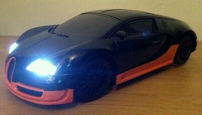 Bugatti VEYRON rechargeable télécommande radio voiture-voiture de dérive vitesse rapide